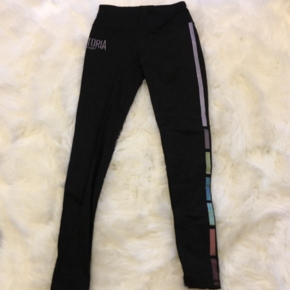 35452ab6bf7cb0 Victoria's Secret Pants | Victorias Secret Vsx Sport Leggings Small ...